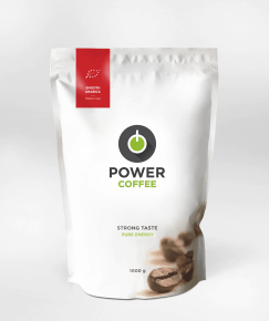 bio arabica, power coffee, smooth arabica