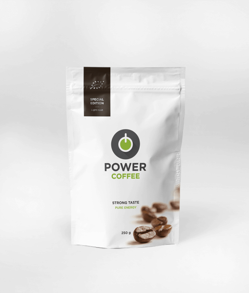 power coffee, kvalitna kava, bio kava, limited