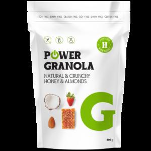 bezlepkova granola powerlogy