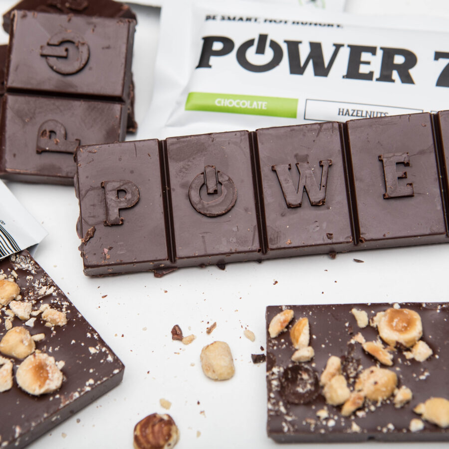 power choco bar 70% čokoláda